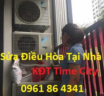 sửa chữa điều hòa tại nhà ở time city.